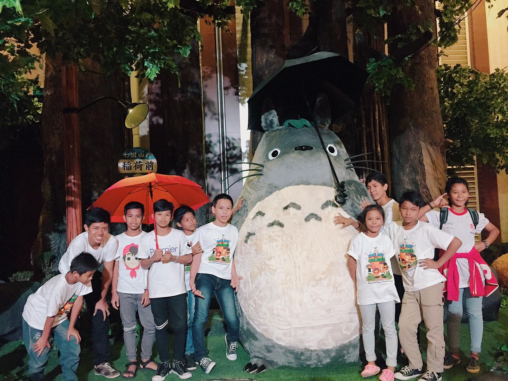 Marubeni's CSR Activity at World of Ghibli Jakarta Exhibition