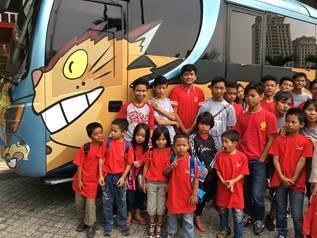 Marubeni's CSR Activity at The World of Ghibli Jakarta Exhibition