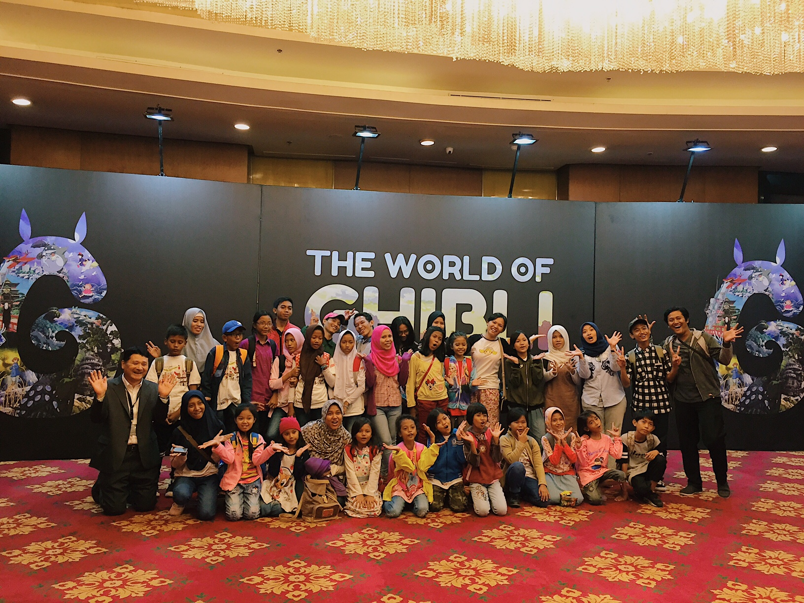 Marubeni's CSR Activity at The World of Ghibli Jakarta Event
