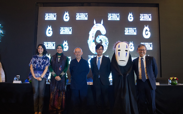 The World of Ghibli Jakarta Press Conference