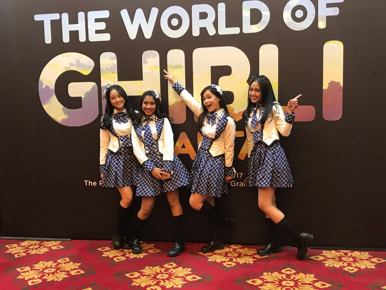 Marubeni Collaborated with JKT48 for The World of Ghibli Jakarta