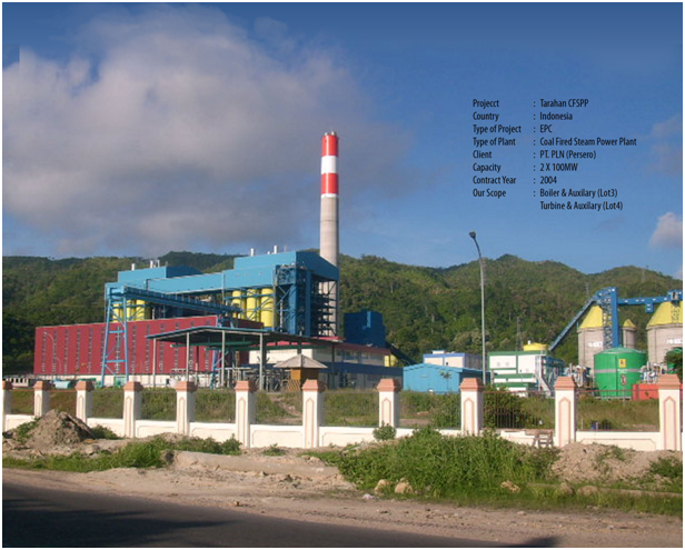 Tarahan CFSPP, Indonesia